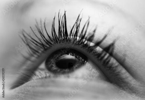 Fototapeten,auge,eye,schwarz,weiß