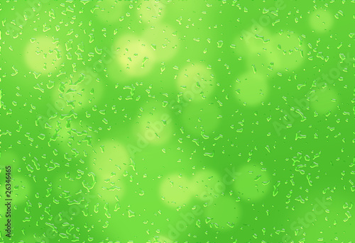 Wet Green Background