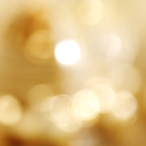 golden bokeh