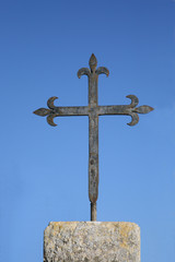 Cross,Basilica of the Transfiguration,Mount Tabor,Israel