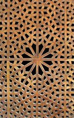 Old wooden latticework