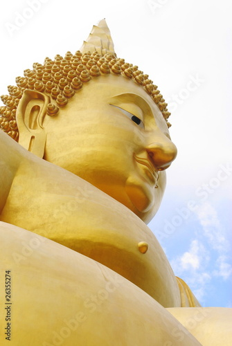 Big Buddha Gold in Ang Thong Thailand