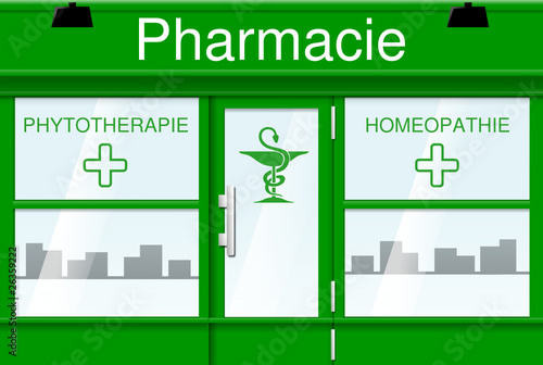 Pharmacie (vecteur)