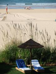 Beach of Praia da Rocha in Portimao, Algarve, Portugal