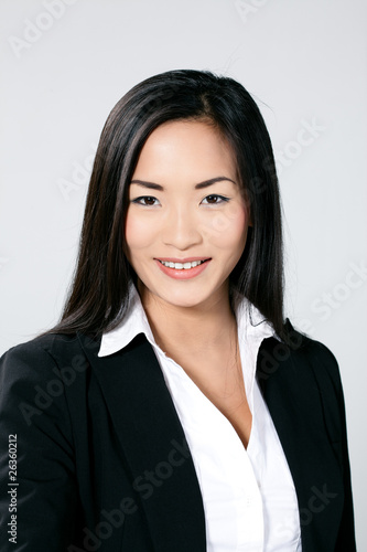 femme asiatique portrait sourire photo libre de droits sur la banque d 39 images. Black Bedroom Furniture Sets. Home Design Ideas