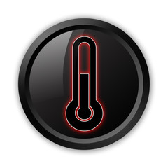 "Black Icon ""Temperature / Thermometer"""