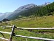 feuchte Berglandschaft