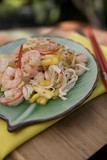 Pad Thai - Thai Food Dishes with Prawns