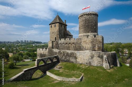 fototapeta na ścianę Zamek w Będzinie
