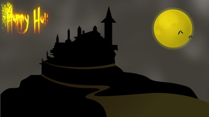 Haunted House - Happy Halloween