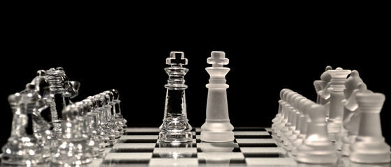 Opposing Kings in Chess Game