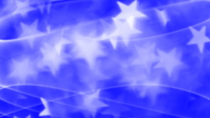 stars and stripes swirling seamless looping background