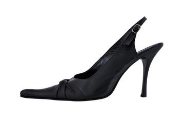 black ladies shoes