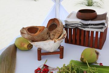 Malediven-Impressionen Hochzeitszelt