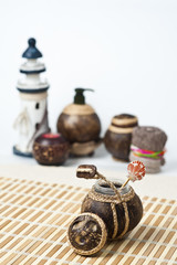 Spa coconut lotion