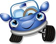 Automobile Cartoon-Baby Car-Vector