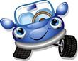 Automobile Cartoon-Baby Car-Vector