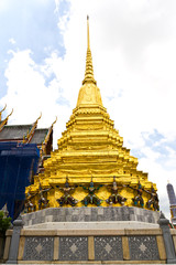 traditional thai style pagoda