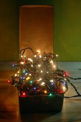 Luces para la decoracion navideña