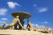 Leinwanddruck Bild - Fontana del tritone ,malta