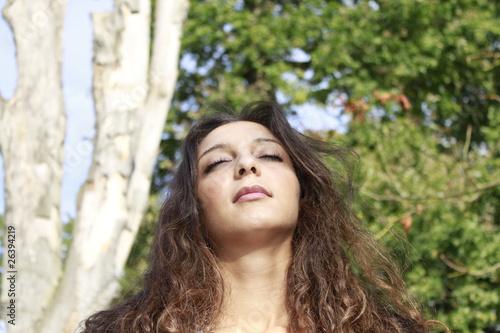 Entspannen in der Herbstsonne