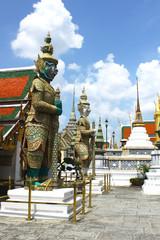 Statues at Grand Palace, Bangkok