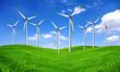 Eco energy - wind turbines farm
