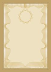 Guilloche vector frame