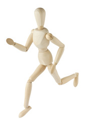 Running mannequin