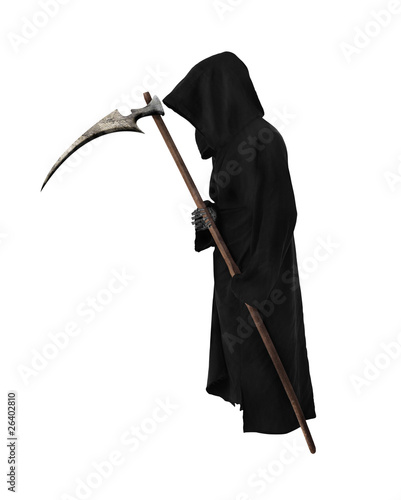 Old Reaper with scythe