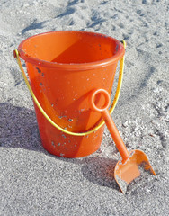 Bucket and shovel