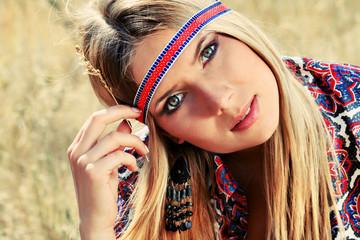 girl hippie