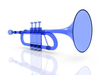 gläserne Trompete