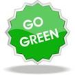 étiquette go green