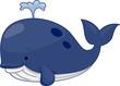 Cute Whale - 26414809