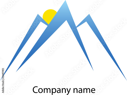montagne logo de pipil7385 fichier vectoriel libre de