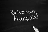 Fototapety Parlez-vous francais
