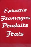 Affiche de commerce poster