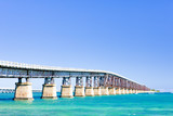 road bridge connecting Florida Keys, Florida, USA