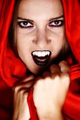 Vampire in red