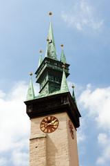 detail of town hall, Znojmo, Czech Republic