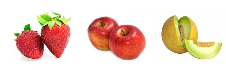 Tipos de fruta.