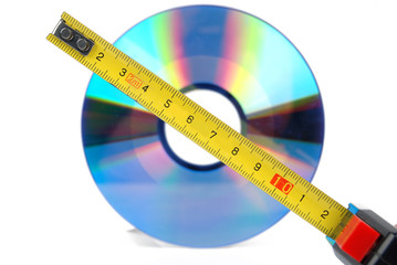 DVD with steel tape