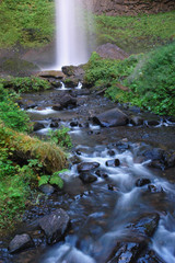 Downstream of Latourell falls