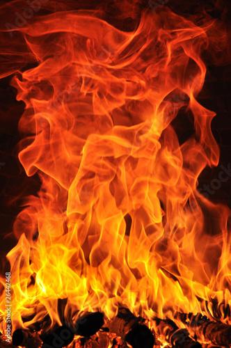 Papiers peints Feu, Flamme Fuoco 2010 1