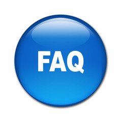Boton brillante texto FAQ