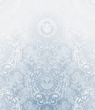 Seamless Wallpaper Pattern, pale blue