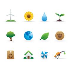 03 Ecology Icons Set