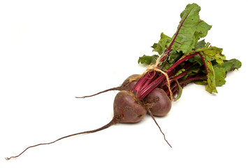 Isolated Beetroot