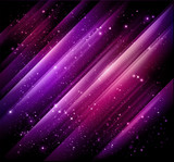 beautiful abstract purple red background with shining lights